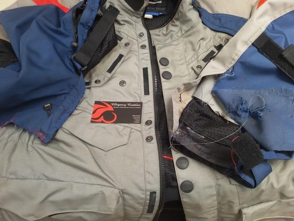 Restauração de jaqueta da bmw