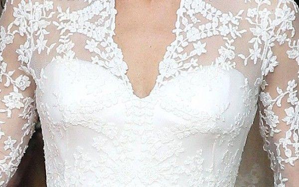 Como escolher a renda correta para o seu vestido de noiva?