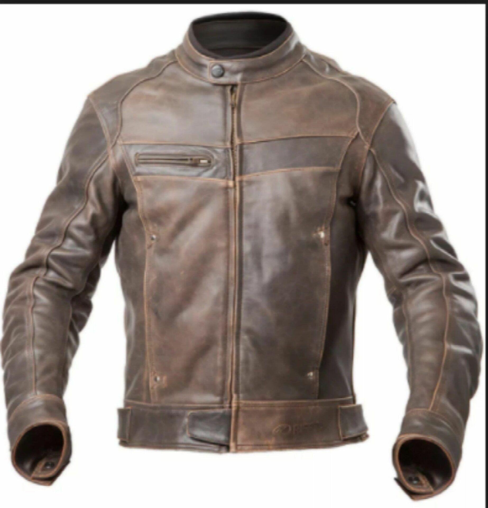 Ajustar ou reformar a jaqueta de couro?
