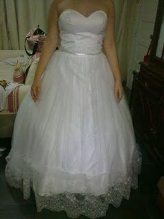 Ajustar vestido de debutante