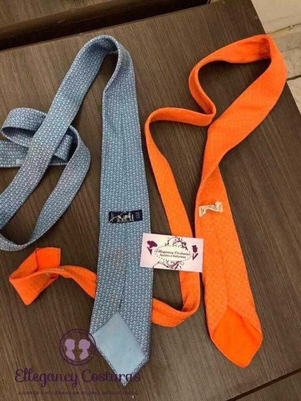 Os estilos de gravatas e a customização em gravata