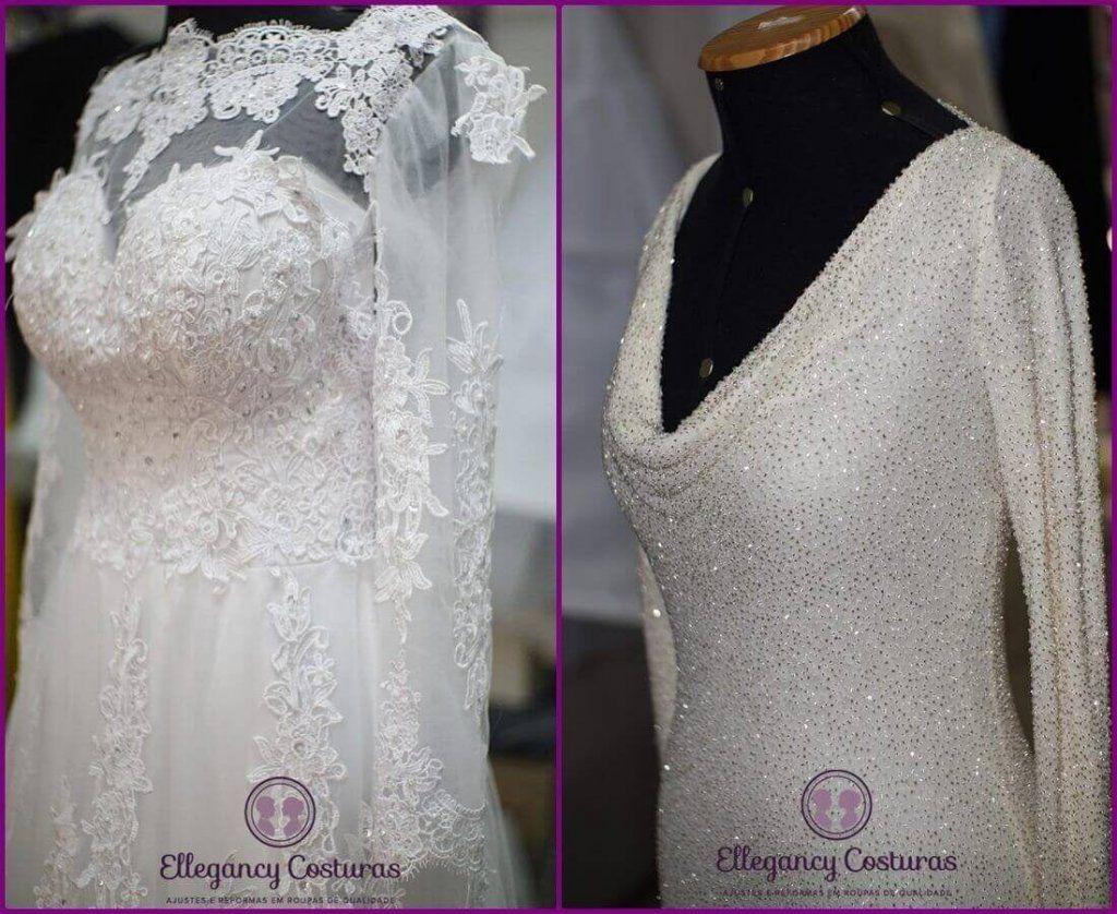 ConfecÇÃo de corpo em vestido de noiva