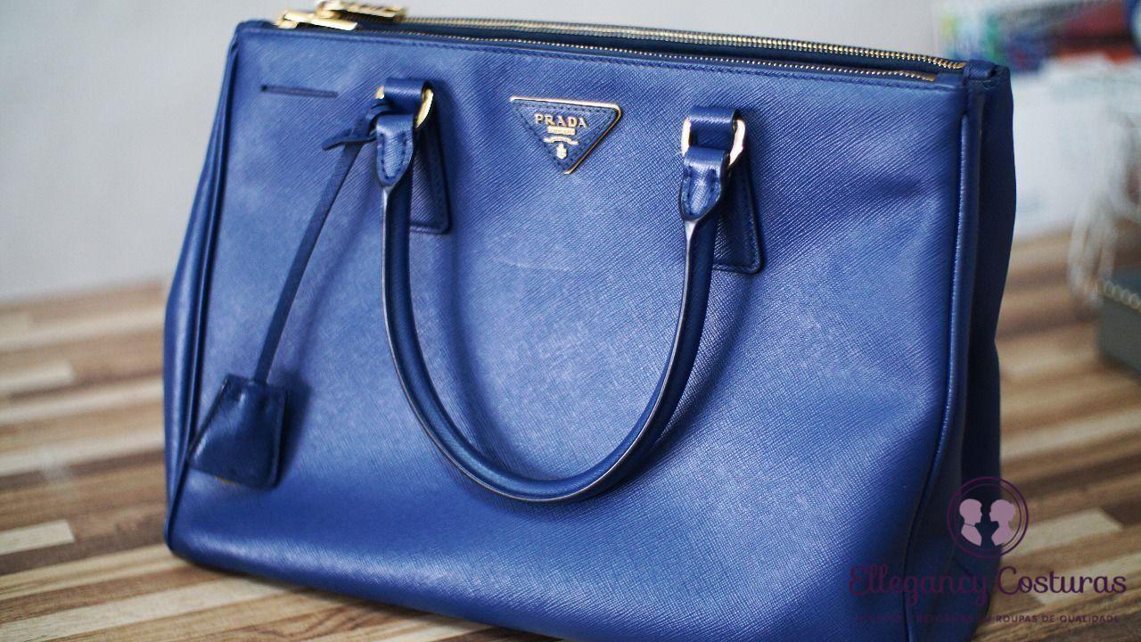 Renovação de bolsas de luxo de couro legítimo