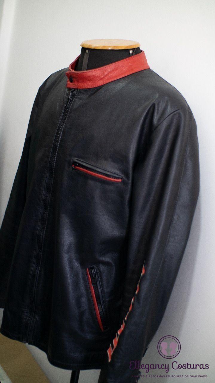 Aumentar o tamanho da jaqueta de couro