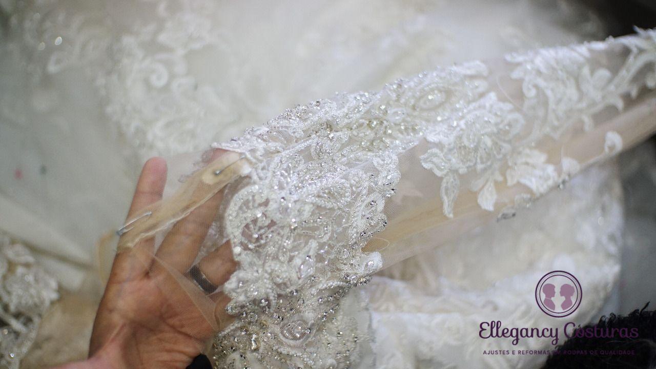 Passo a passo para o vestido de noiva