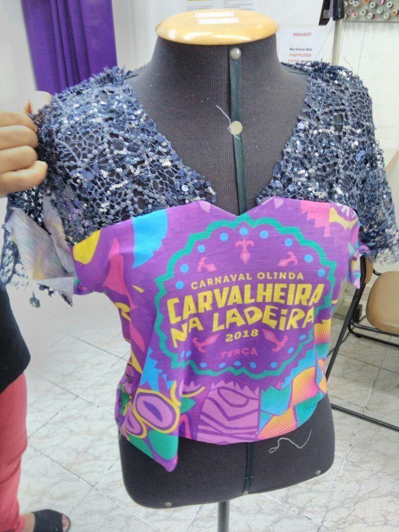 Customização de abadá carnaval