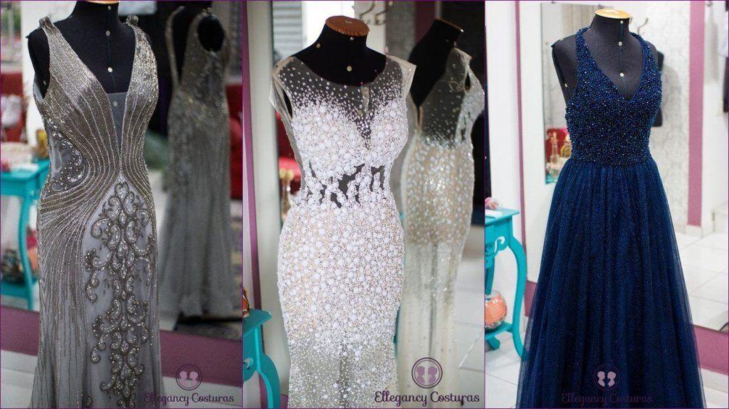 Transformar vestido comprido em vestido curto