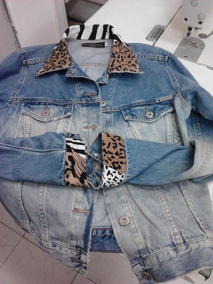 customizar-jaqueta-jeans-com-tecido-de-oncinha-8484558