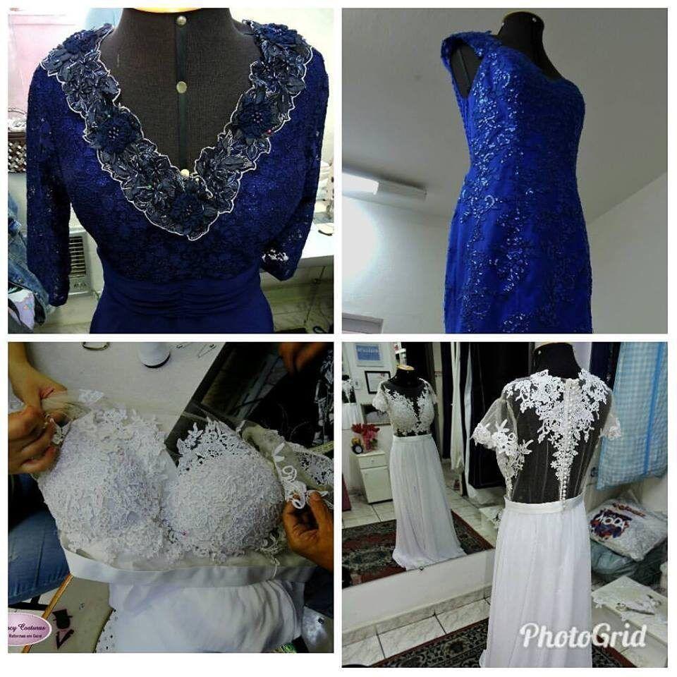 Modificar modelo de vestido de festa
