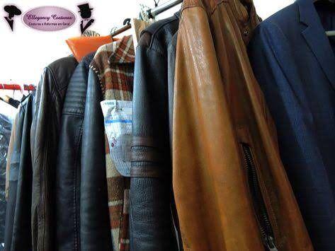 Reforma em jaqueta de couro e restauração em roupas de couro