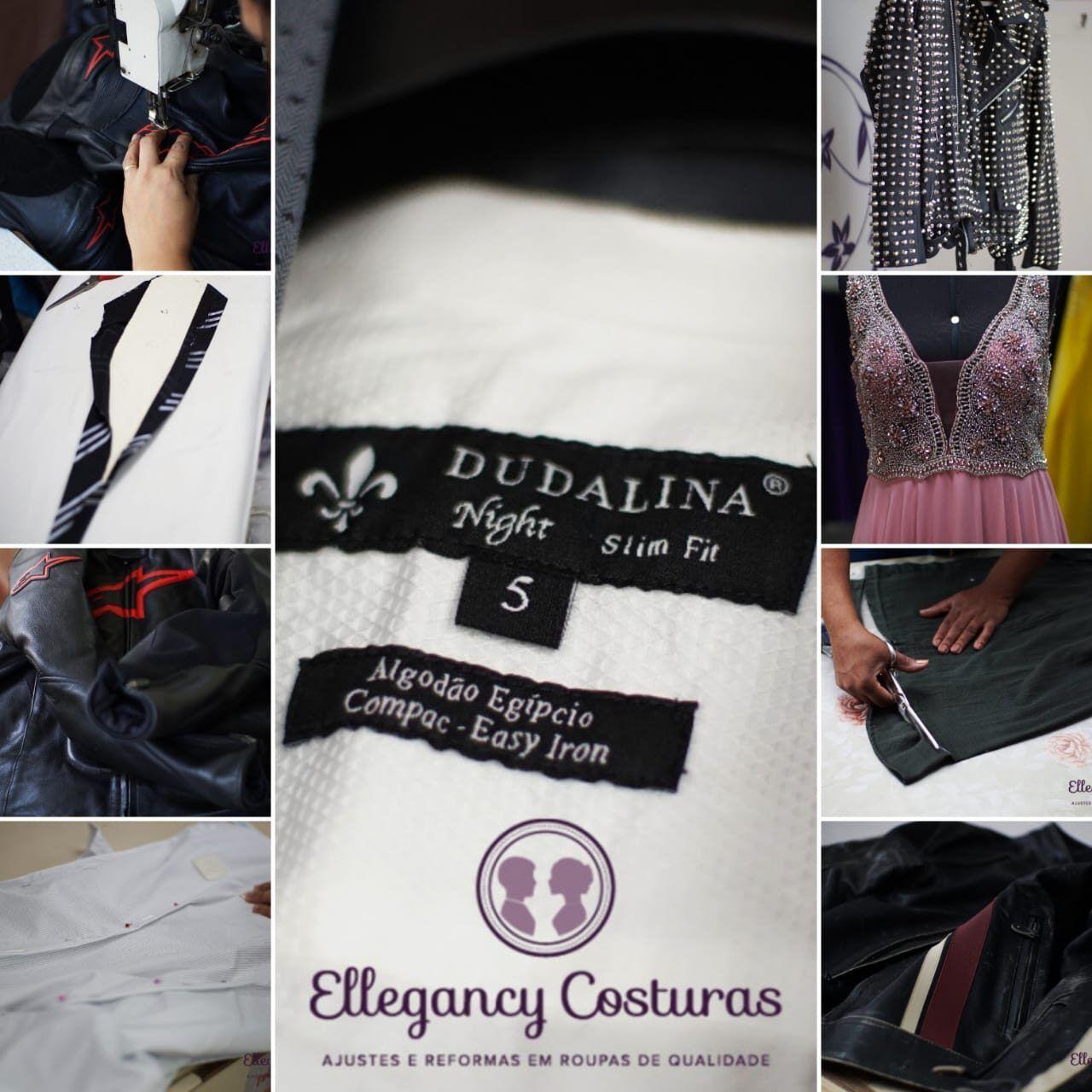 Costureira competente nos ajustes de roupa