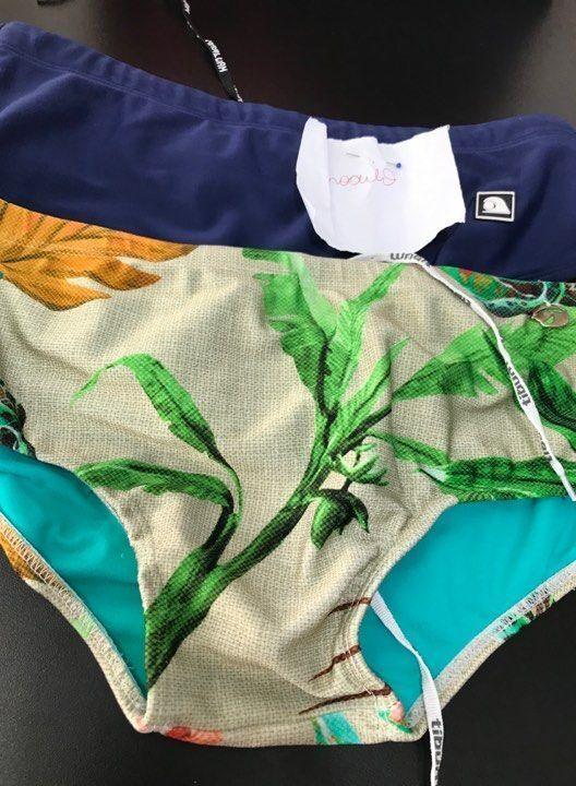Ajustar sunga masculina e biquínis