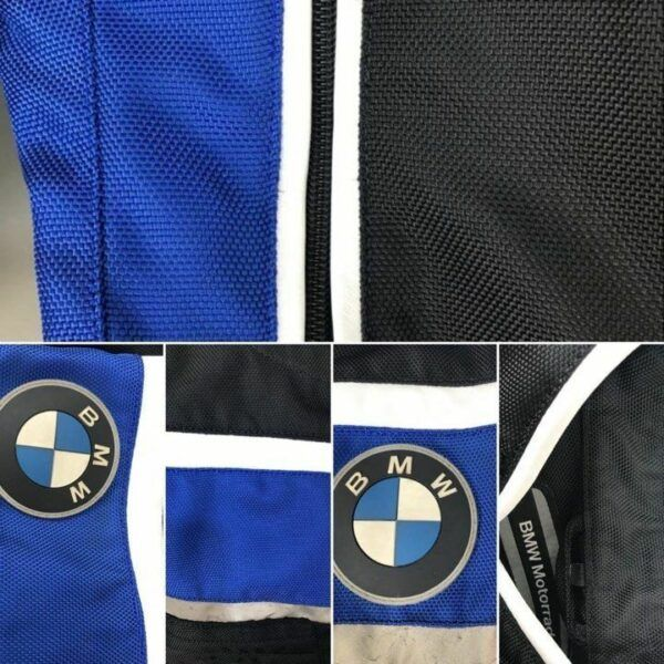 Restaurar jaqueta bmw motorrad