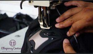 Trocar as proteções de calça de motociclista da Tutto