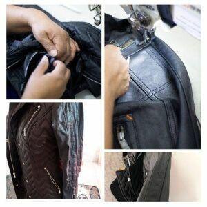 reformar jaqueta de couro