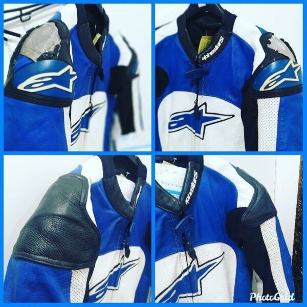 Arrumar ombro da jaqueta alpinestars