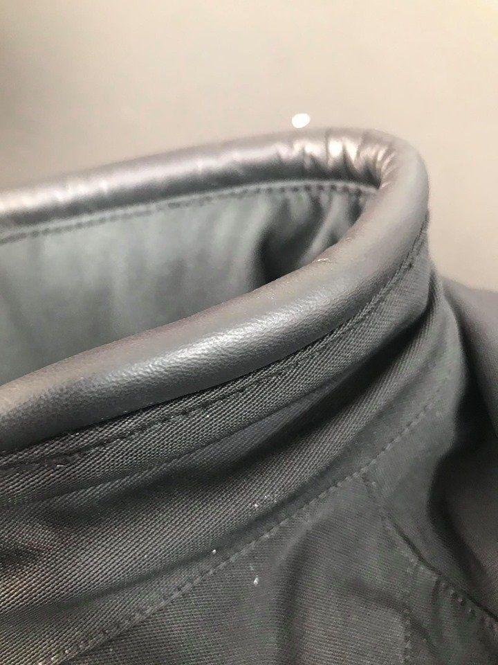 Diminuir tamanho de manga da jaqueta ducati
