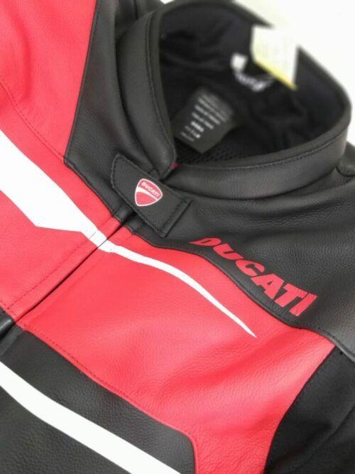 Aumentar tamanho de macacão de couro Ducati