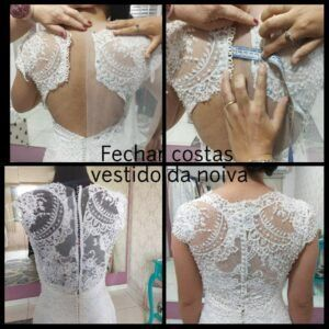 Bordados e ajustes em vestidos de noivas e festas