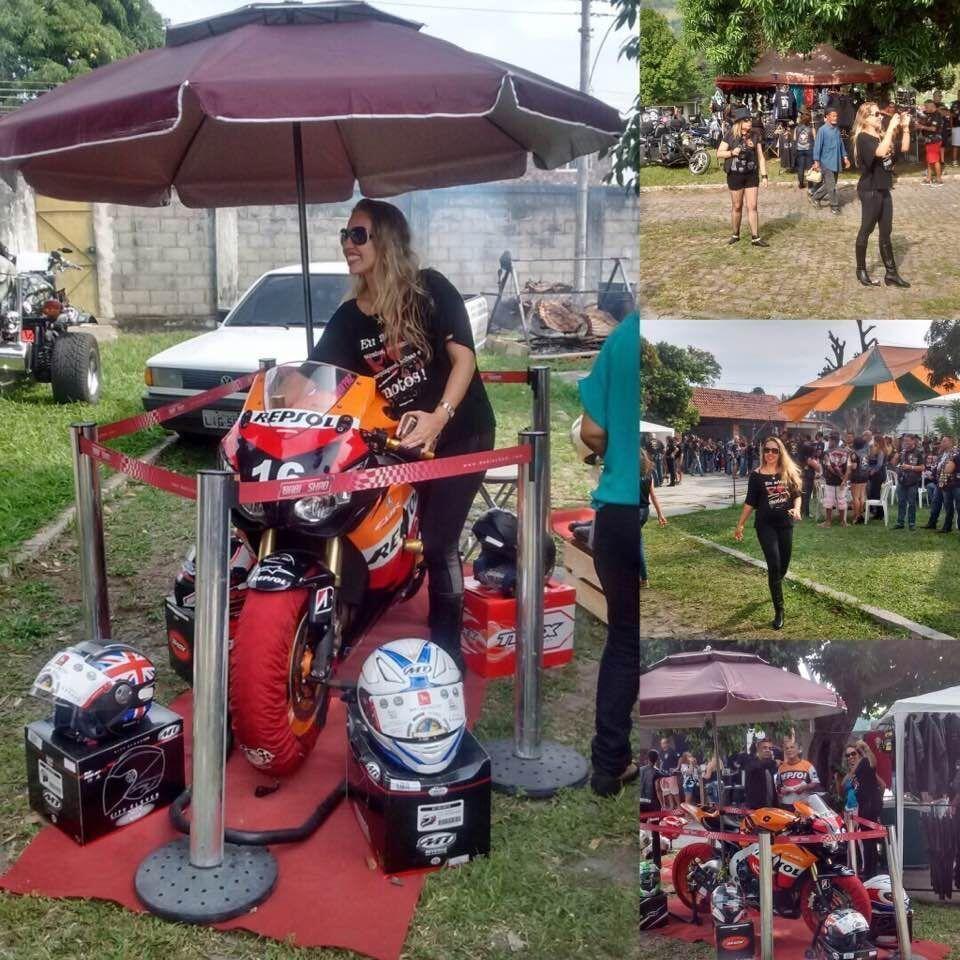 mulheres que pilotam motos