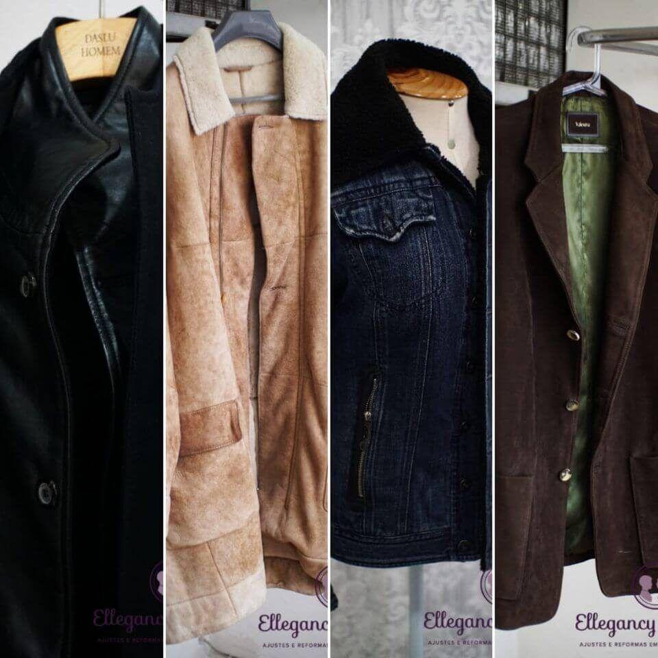Reparos em jaqueta de couro sp