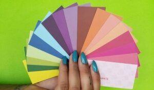Cartela de cores que favoreça o look