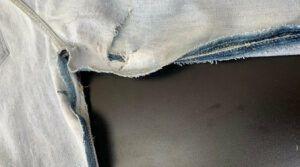 Consertar o fundo de calça