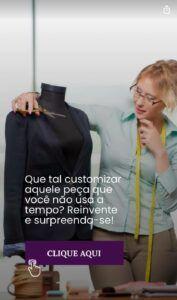 customização de roupa