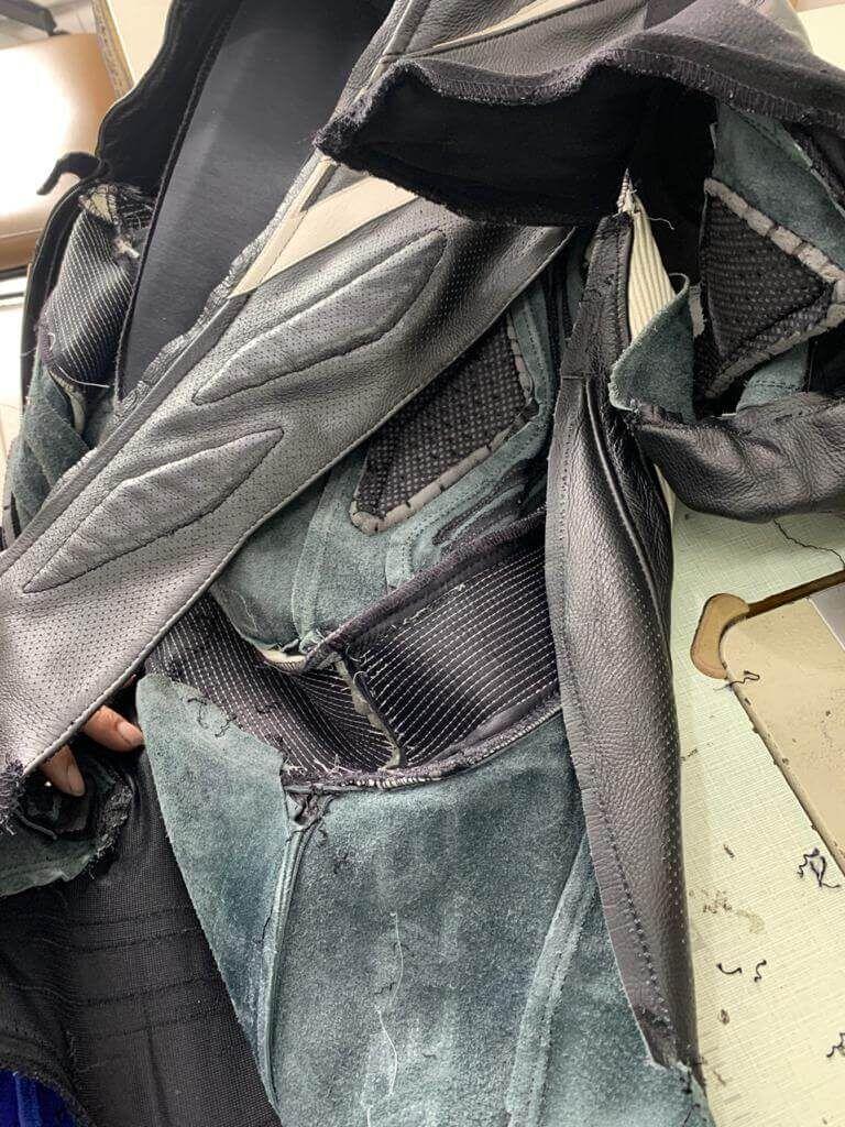 Motociclistas rj – ajustes no macacão de couro