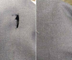 Consertar roupas furadas em sp