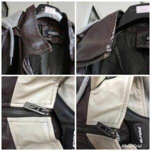 restaurar jaqueta de couro sintético