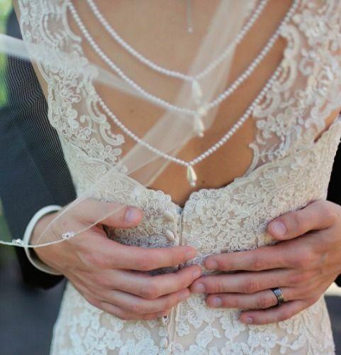 Vestido de Noiva e alguns tipos de rendas