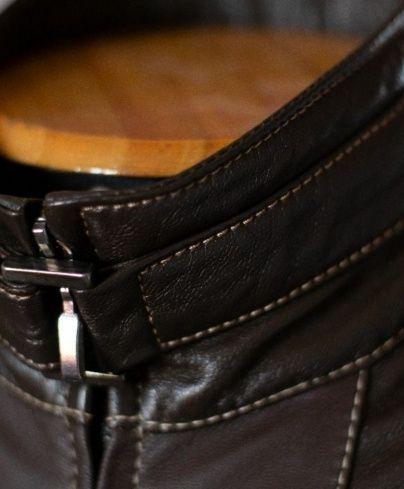 Customizando jaquetas de couro