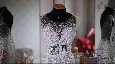 Ajustes em vestidos de noiva