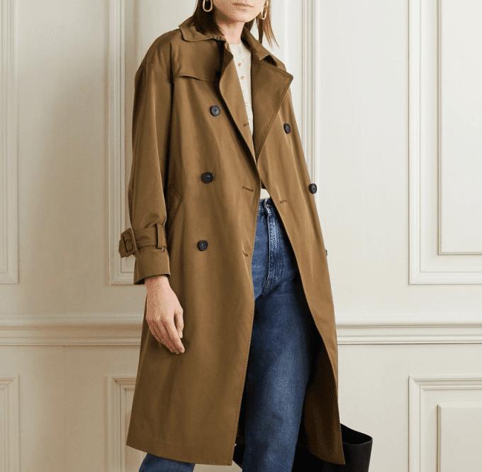 Ajustes em sobretudo, trench coat e casaco de frio