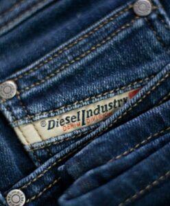 Ajustar a largura de calça Jeans da Diesel