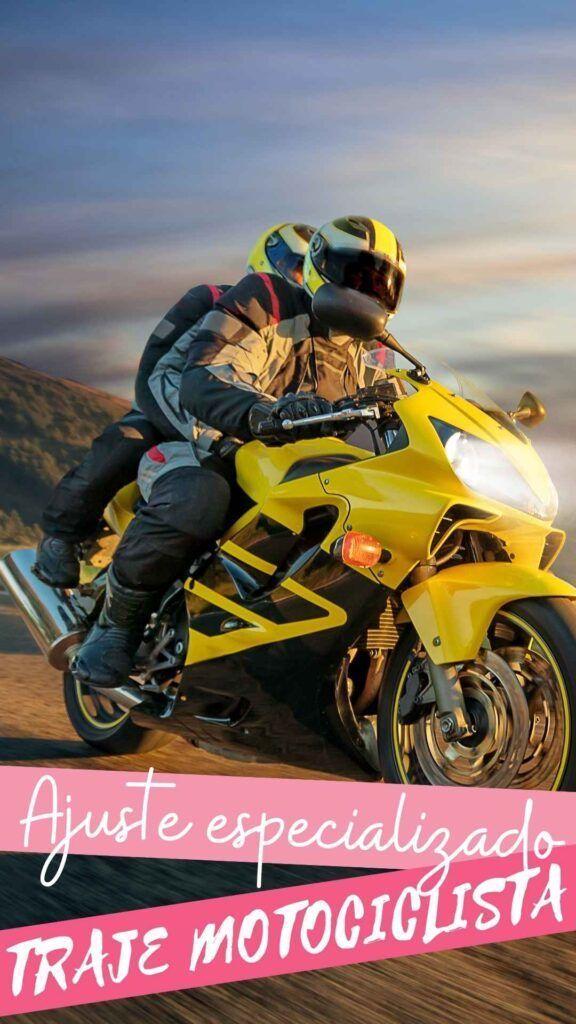 Reformar roupa de motociclista