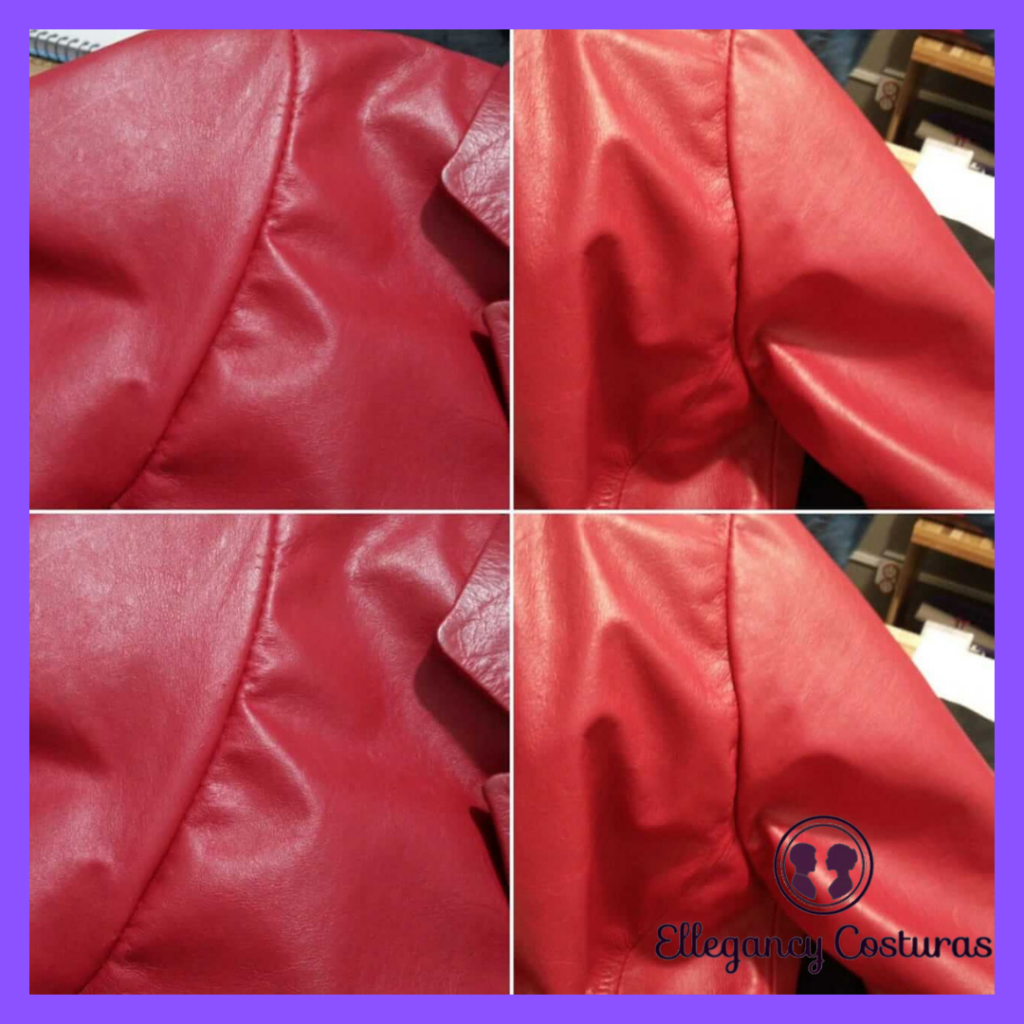 Reforma de jaqueta de couro Bahia Ba