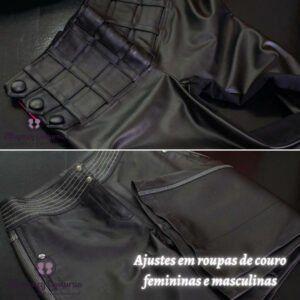 Reforma de roupas de couro em Sp