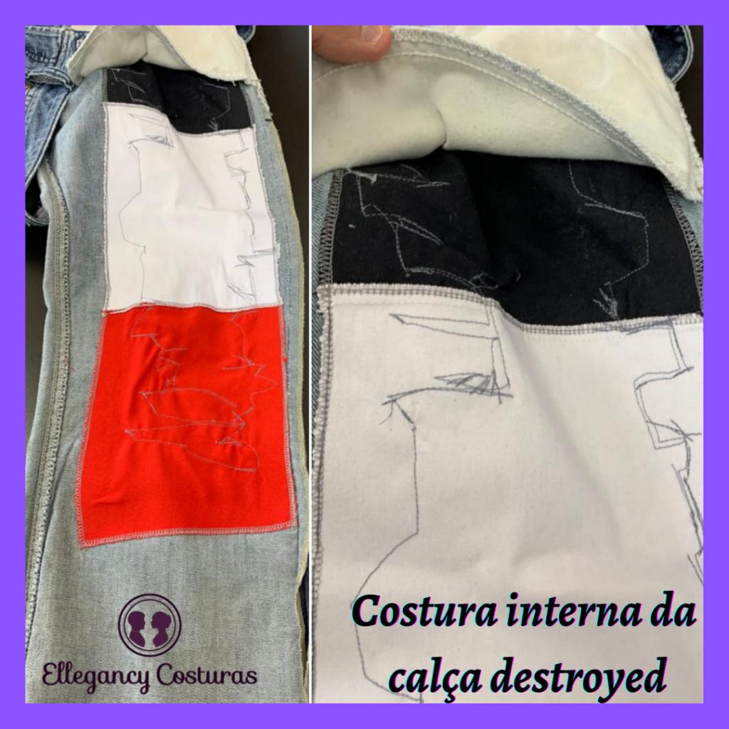 Transformar calca jeans tradicional em destroyed