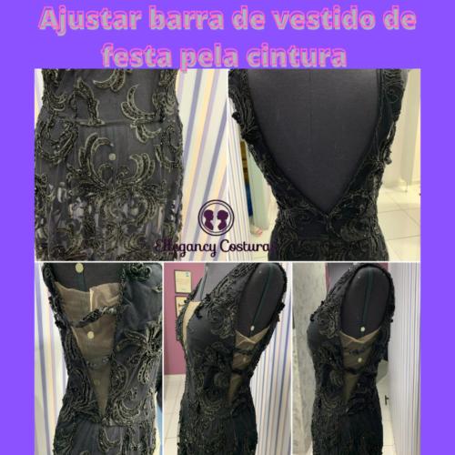 Ajustar barra de vestido de festa pela cintura e1627078304531
