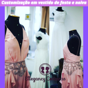 Ajustar vestido de festa e de noiva em Sao Paulo