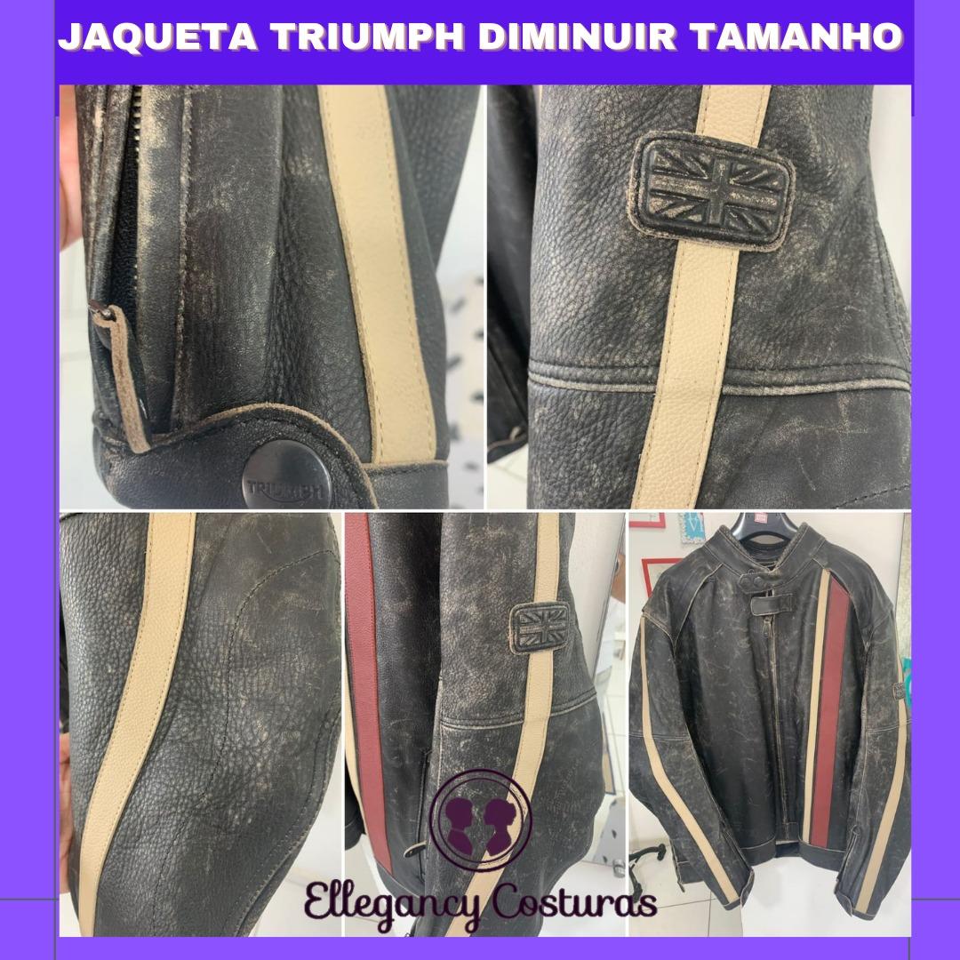 Ajustar tamanho de jaqueta triumph