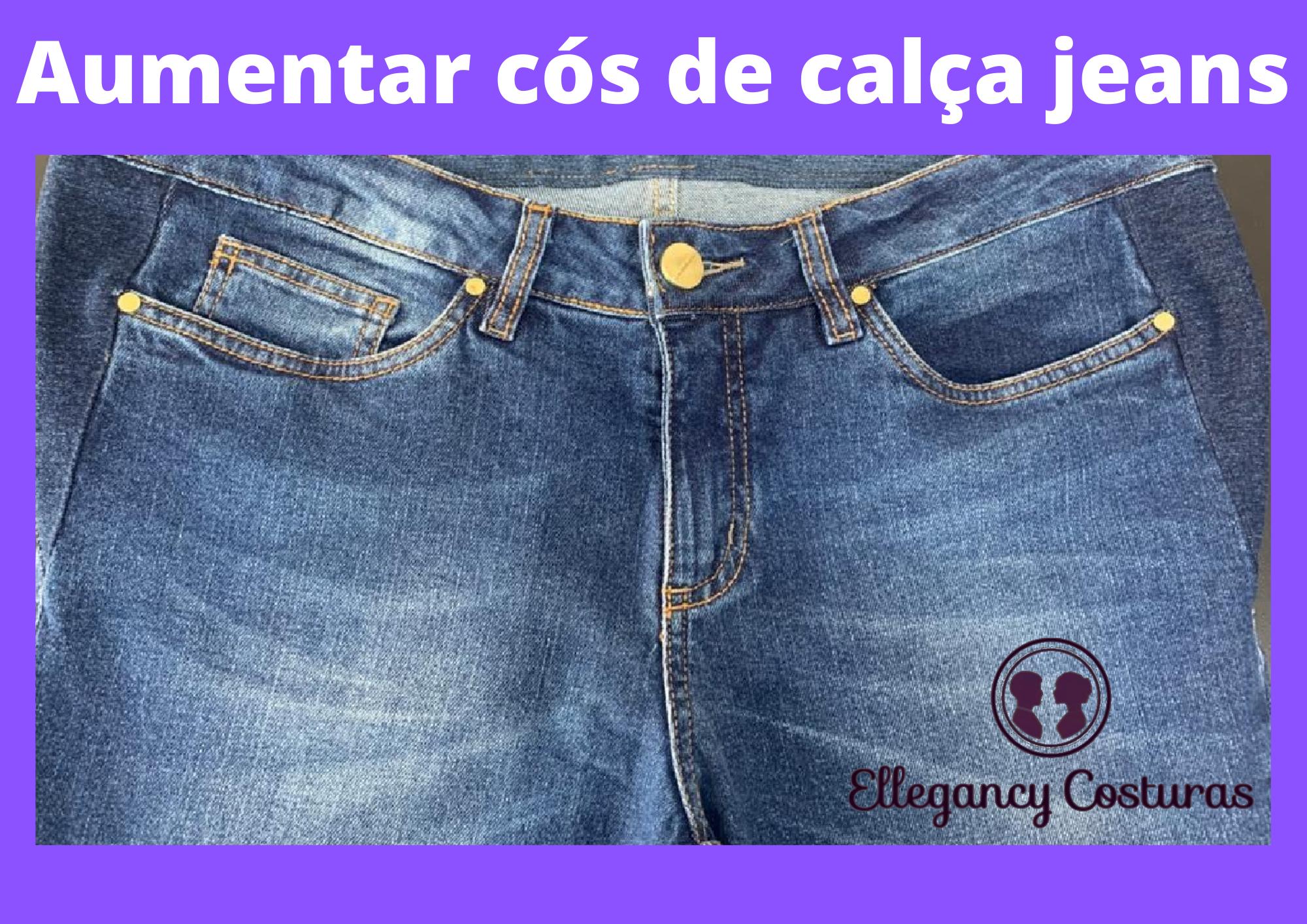Aumentar cos de calca jeans em Sao Paulo