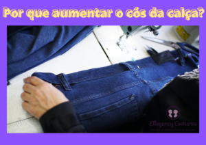 Como aumentar cos de calca jeans ou outro modelo