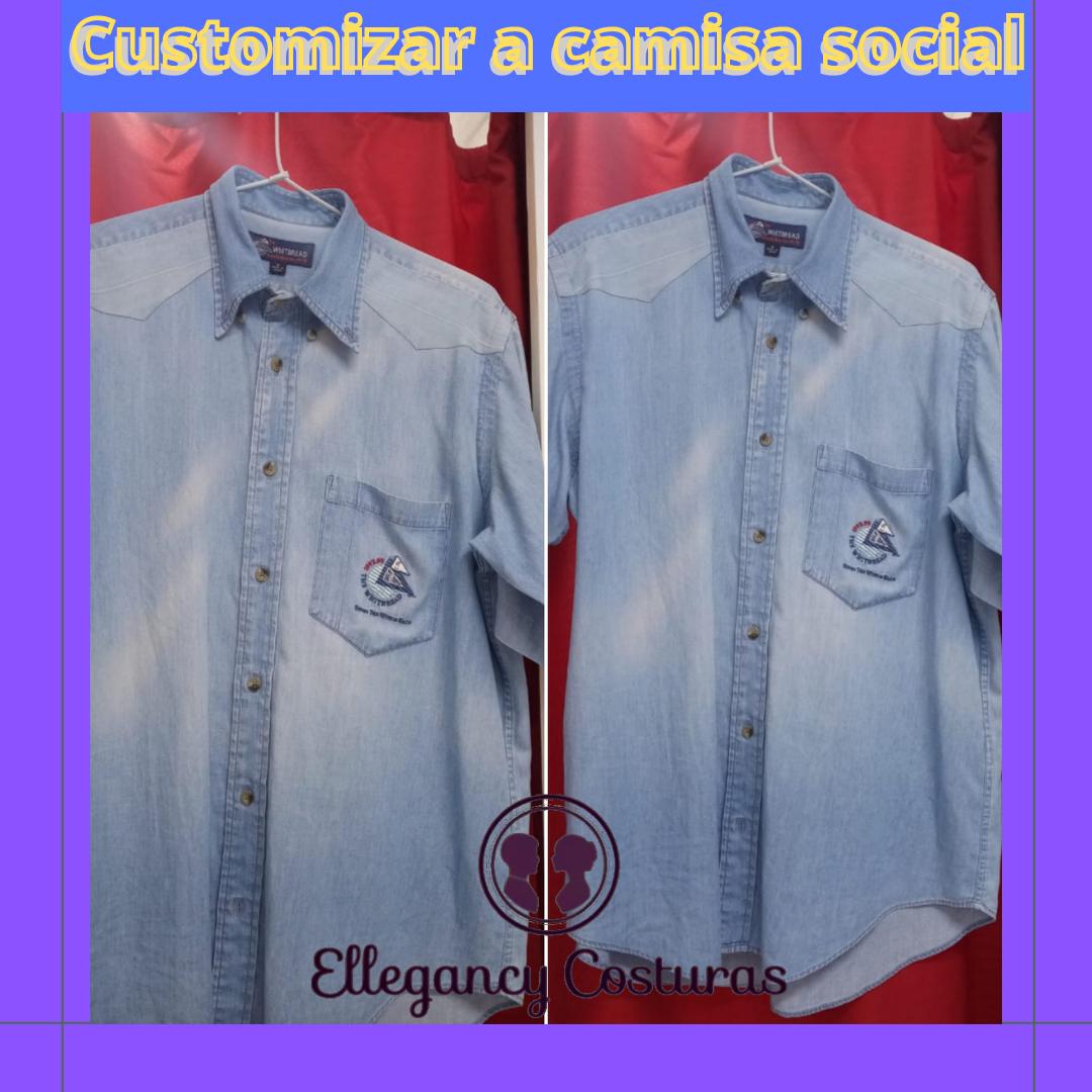 Customizar a camisa social