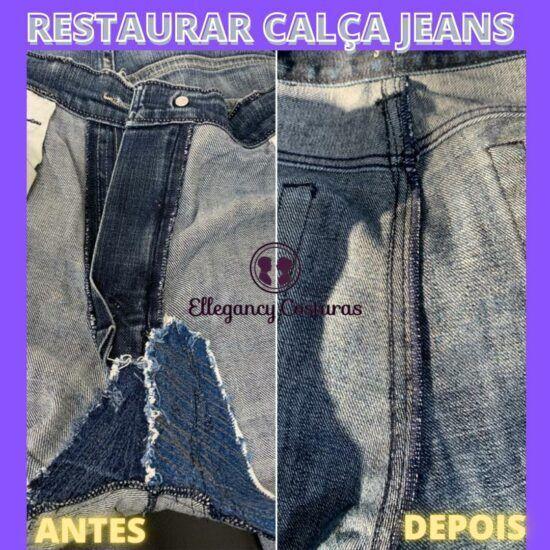 Restaurar calça jeans