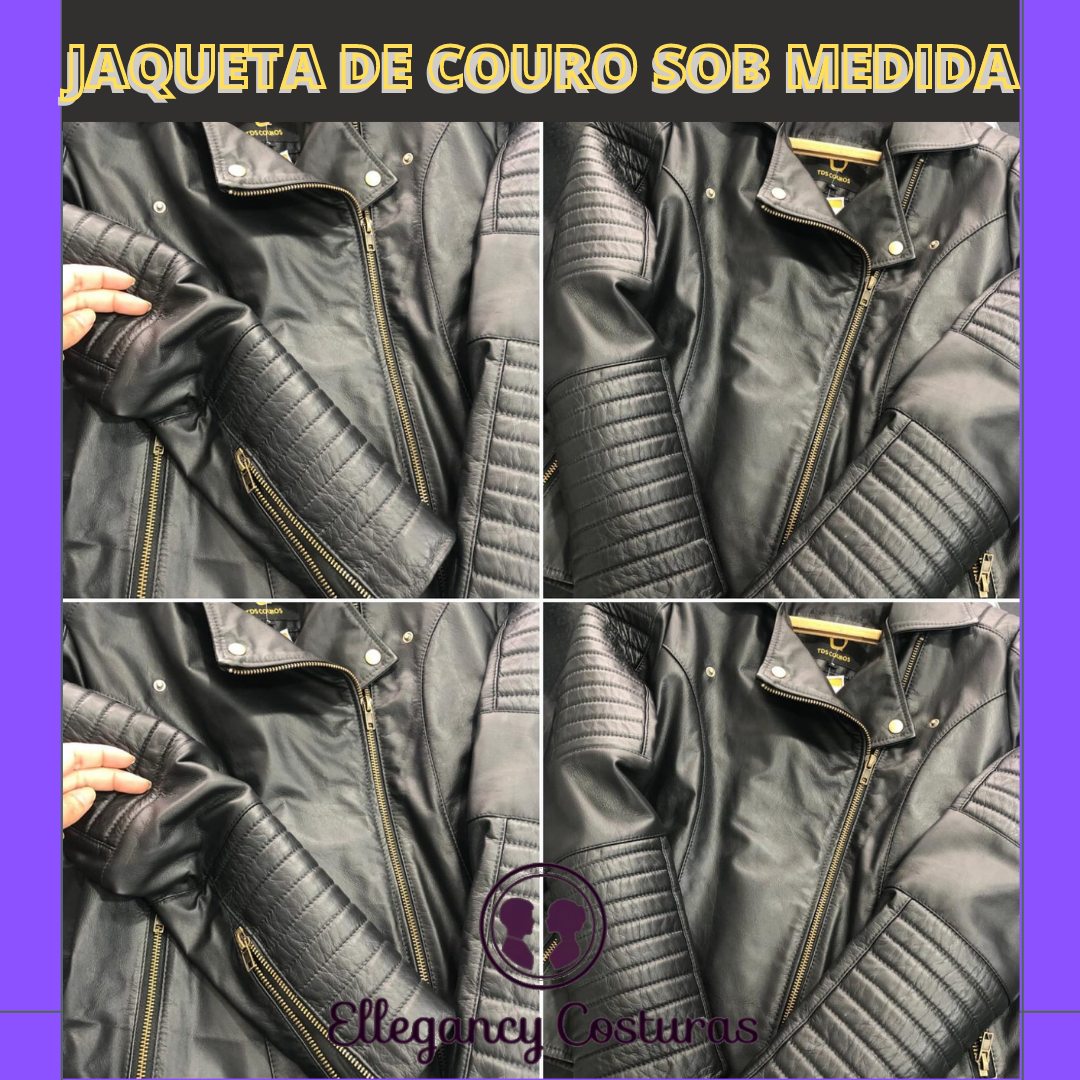 Jaqueta de couro sob medida Sp