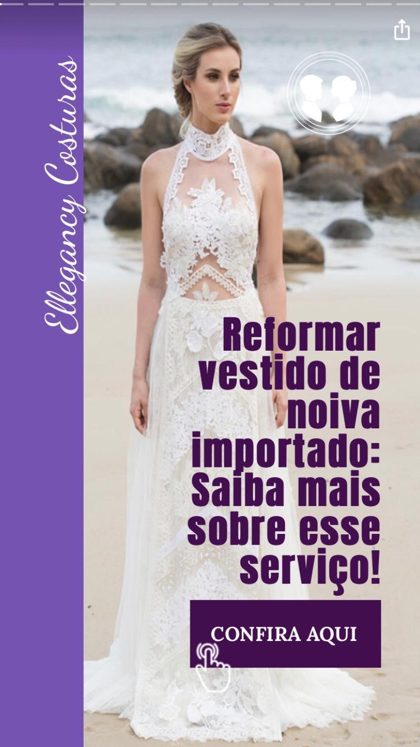 Reformar vestido de noiva importado sp