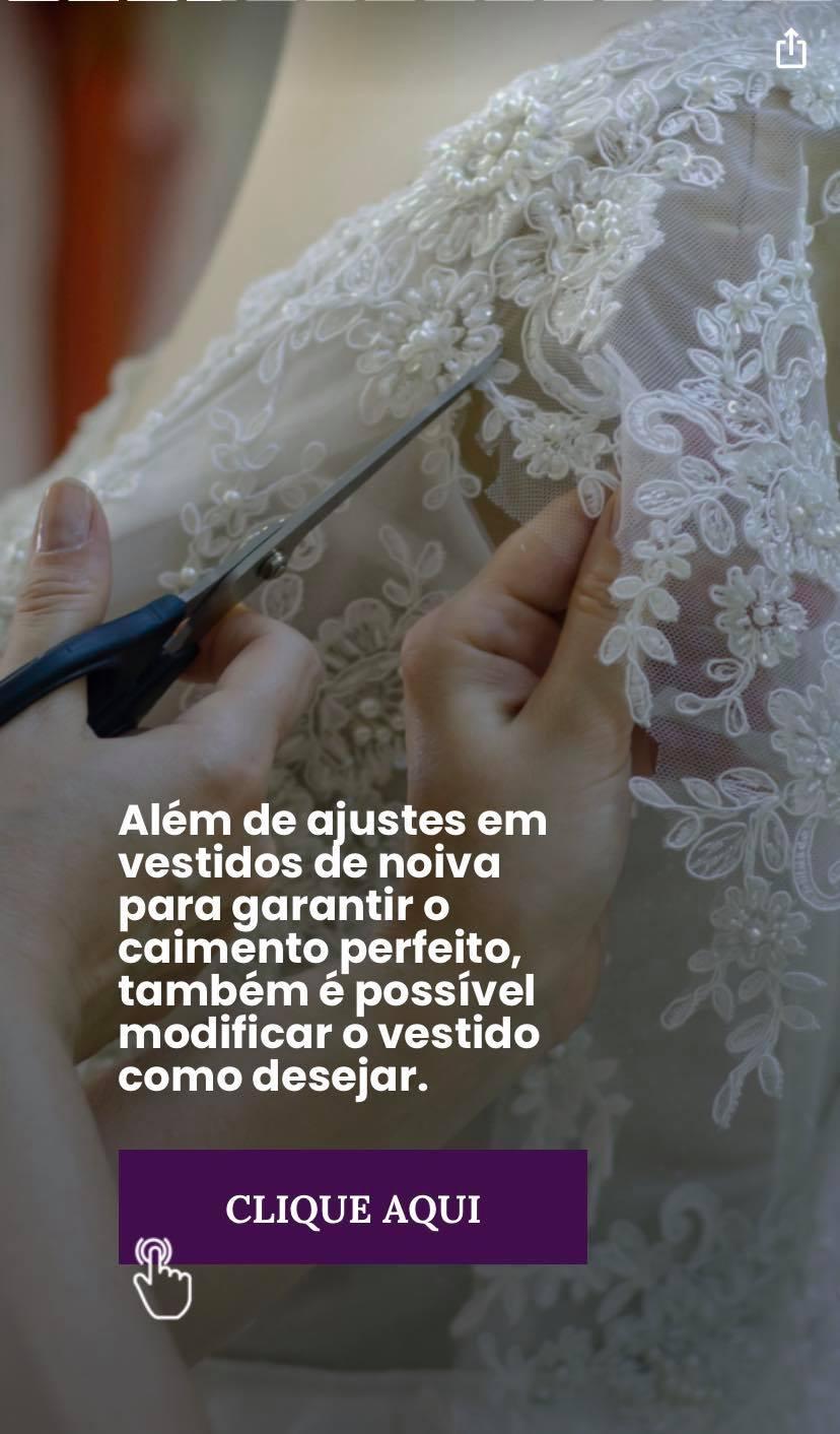 Modificações no vestido de noiva